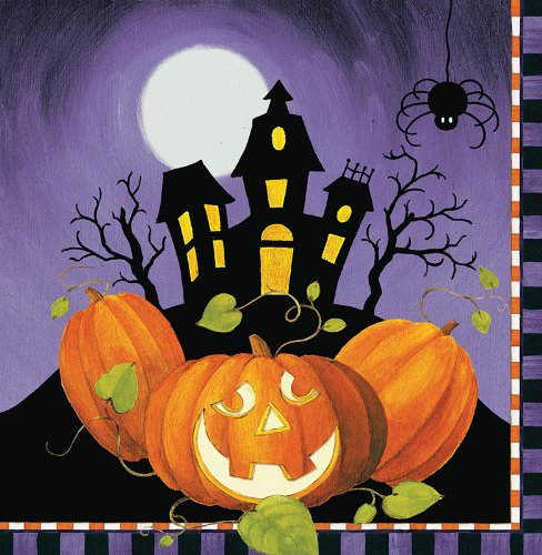 halloween party ideas haunted house napkins