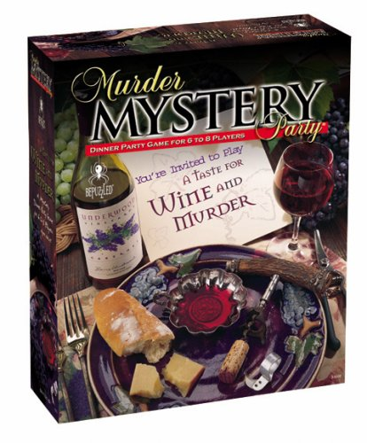 murder mystery adult game halloween party ideas