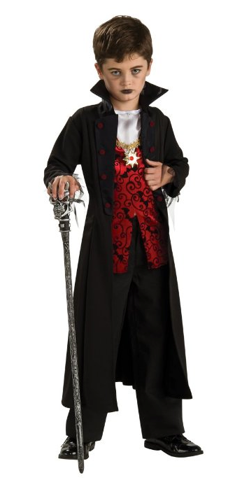 Royal Vampire Kids Costume