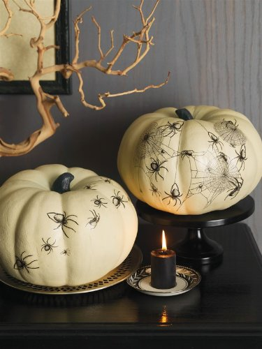halloween decorating ideas elegant pumpkins