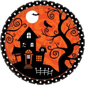 halloween party ideas party plates