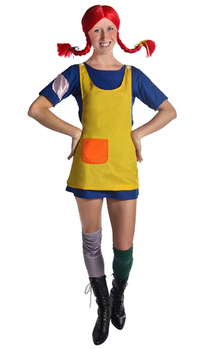 halloween costumes for women-pippi-longstocking costume