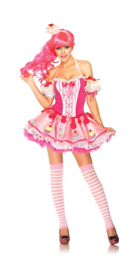 Katy Perry 3 PC Babycake Costume