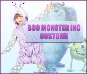 Boo Monster Inc Costume