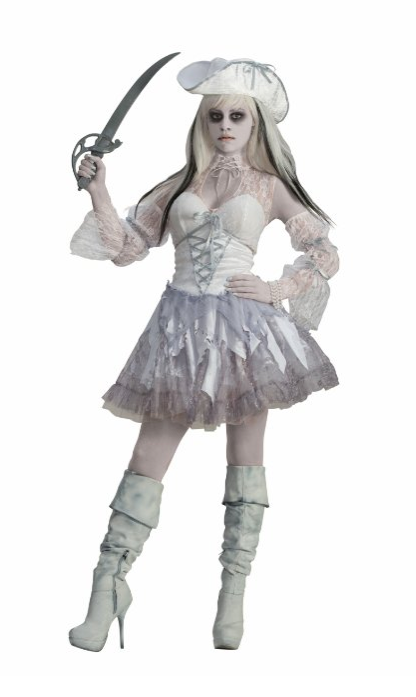 Pirate Ghost Costume  sc 1 st  Halloween Ideas For Women & Pirate Costumes For Women