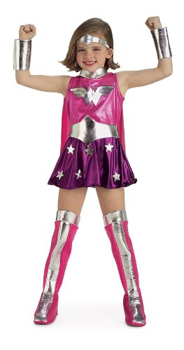 Wonder Woman Costumes For Kids - Pink