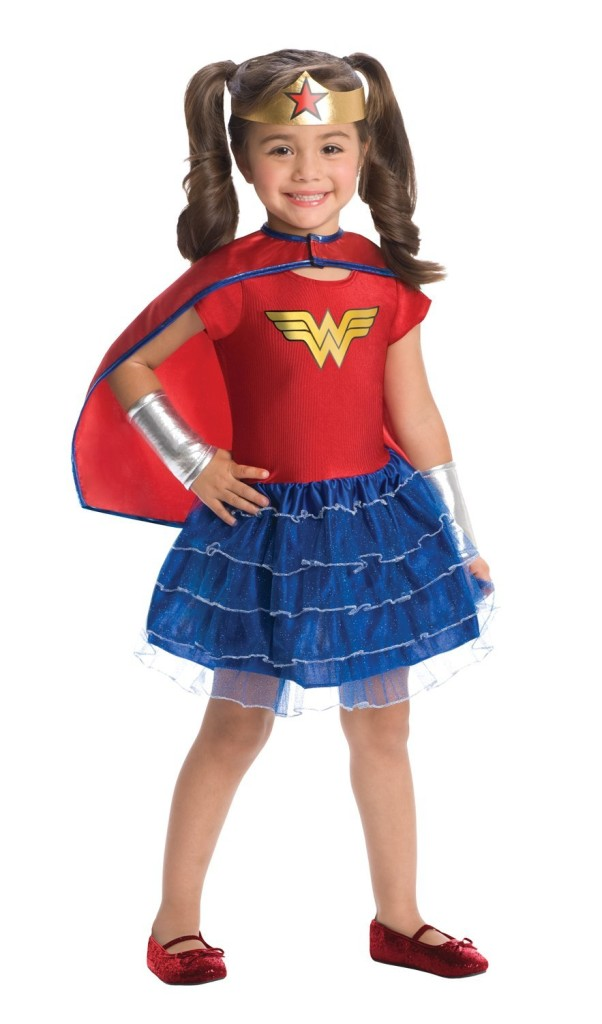 Wonder Woman toddler costume tutu