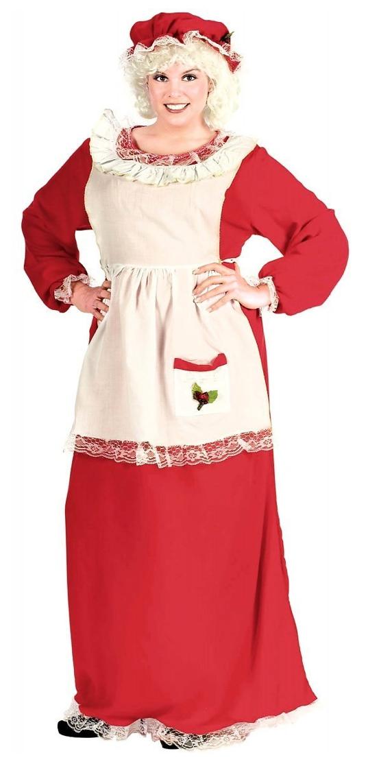 Mrs santa claus costume halloween ideas for women