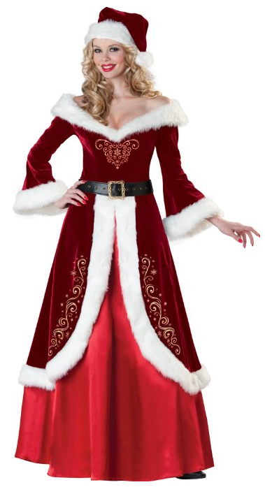 Sexy mrs claus png mrs santa claus costume