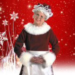 Mrs Santa Claus Costume and Accessories