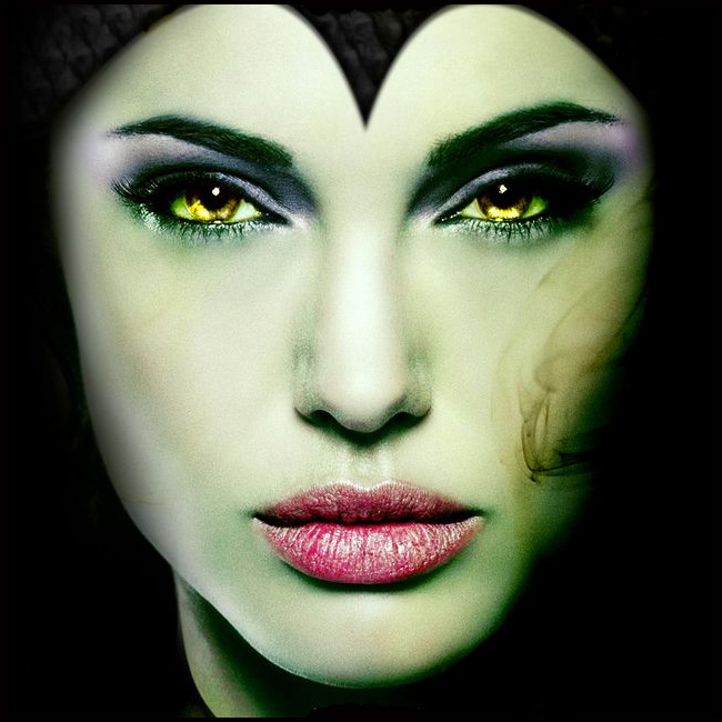 How to do Maleficent Makeup