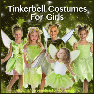 tinkerbell costumes for girls
