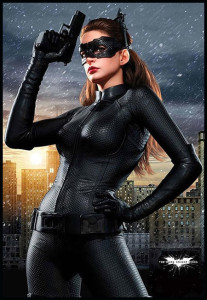 Anne Hathaway Catwoman Costume