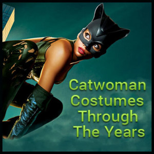 Catwoman costumes through the years