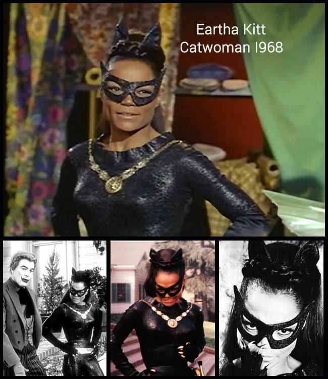 Earha Kitt Catwoman Costume