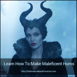 How to Make Maleficent Horns that look REAL!