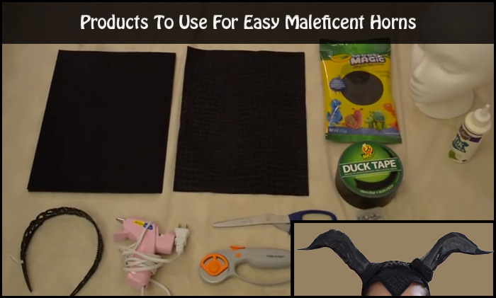 Make Maleficent Horns