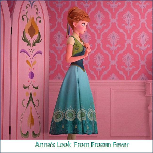 Anna's Look From Frozen Fever