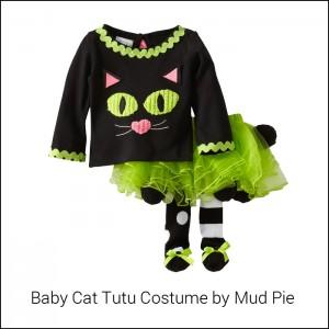 baby cat tutu costume by Mud Pie