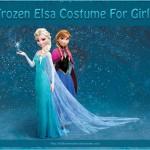 Frozen Elsa Costume for Girls Absolutely Stunning!