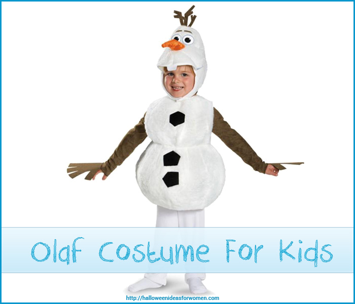 Olaf costume for kids