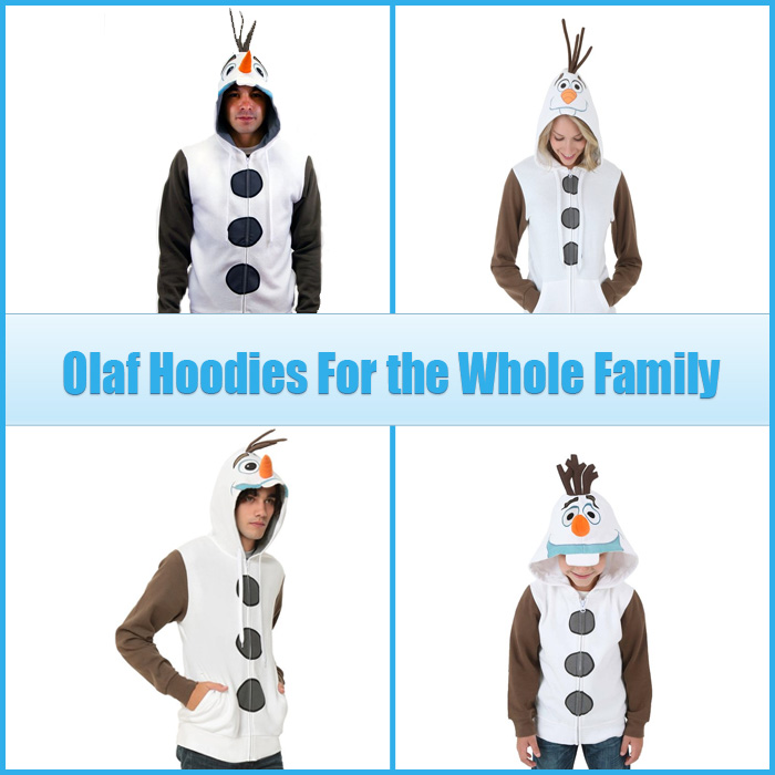 Olaf Hoodies for adults