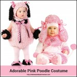 Pink Poodle Costume for Baby and Toddlers Absolutely Adorable