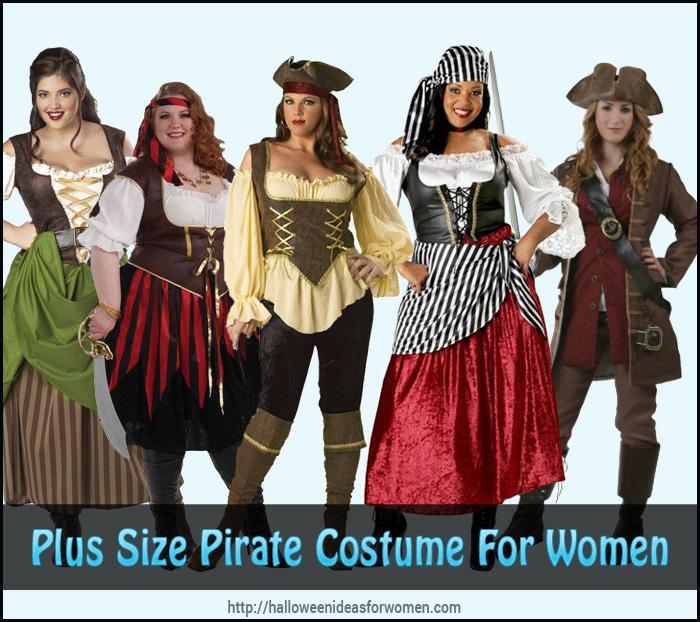 Plus Size Pirate Costume For Women
