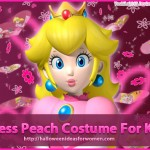 Princess Peach Costume For Kids – Perfect For Battling Goombas!