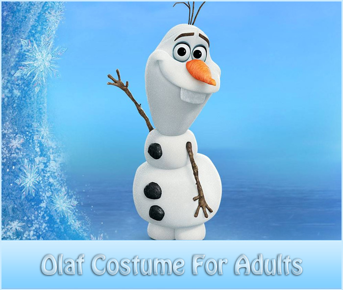frozen olaf costume for adults