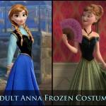 Adult Anna Frozen Costume