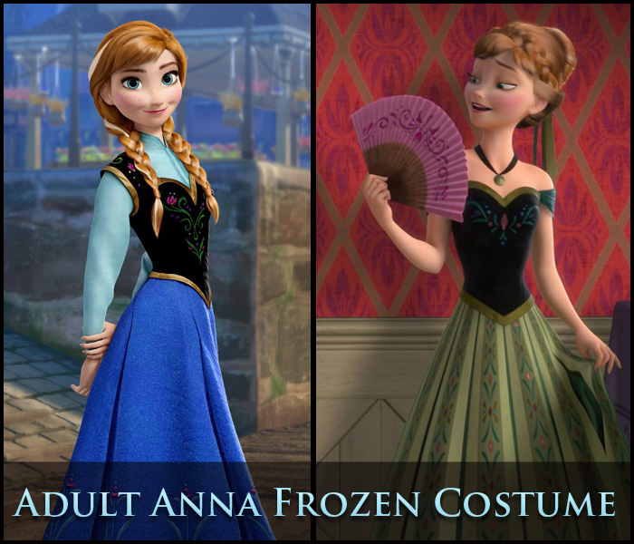 Adult Anna Frozen Costume