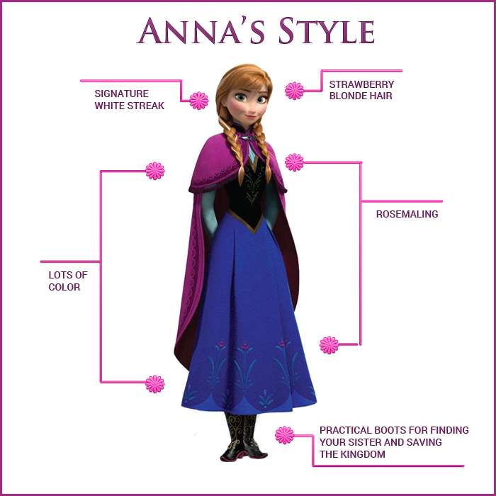 Anne Frozen Costume Style