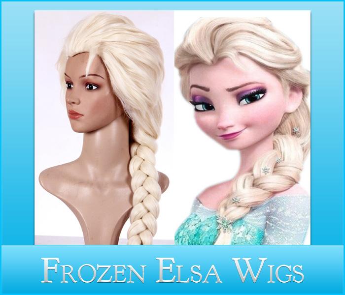 Frozen Elsa Wig