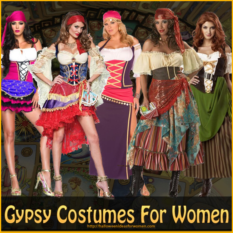 Gypsy Costumes For Women u2013 Simply Gorgeous  sc 1 st  Halloween Ideas For Women & Gypsy Costumes For Women