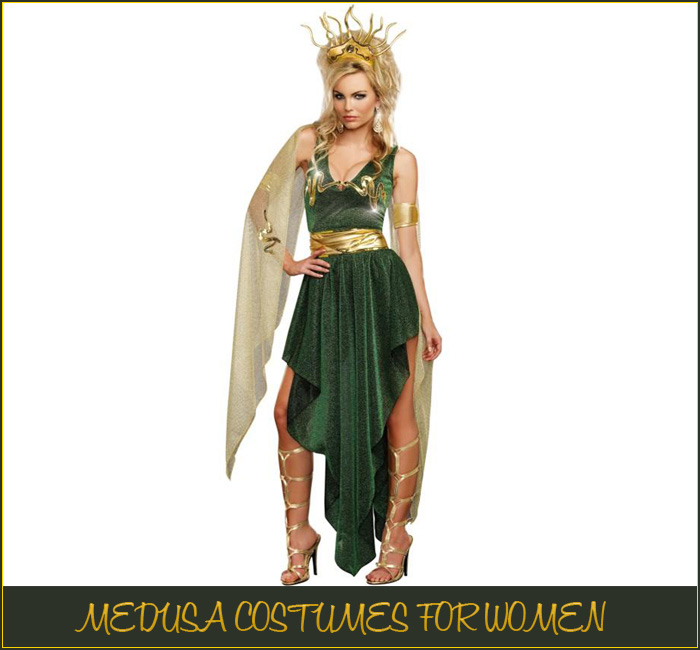 Medusa Costumes For Woman