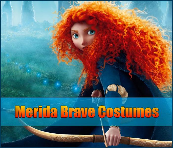 Merida Brave Costume