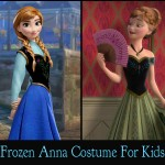 Disney Frozen Anna Costume For Kids Simply Gorgeous!