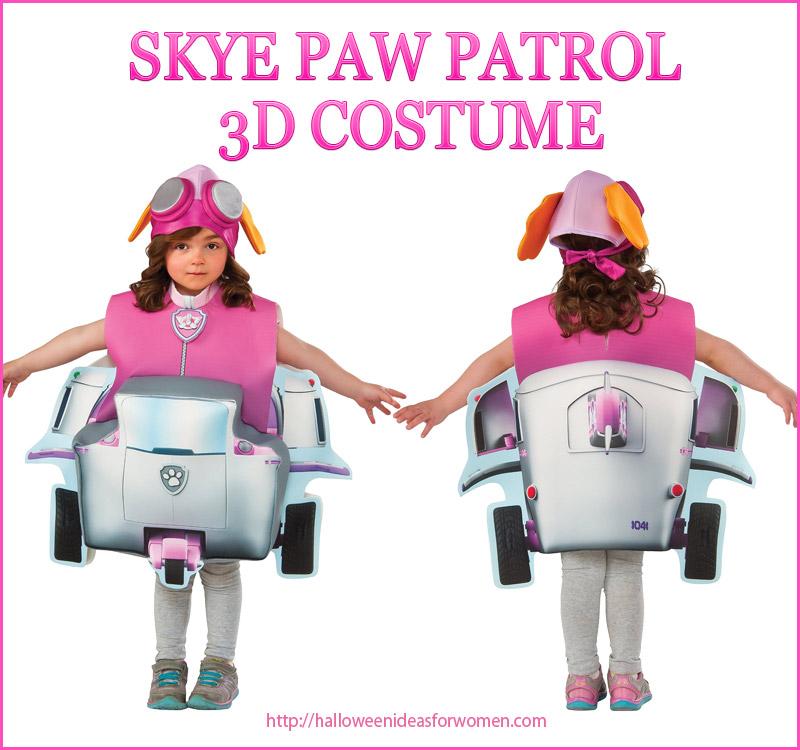 Sky Paw Patrol 3D Costume