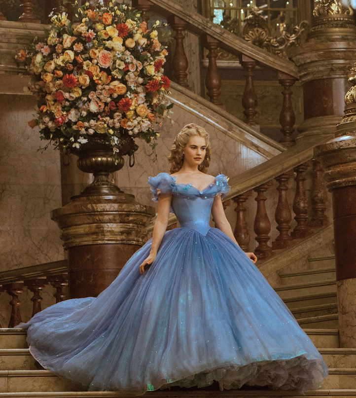 Cinderella 2015 Ball Gown