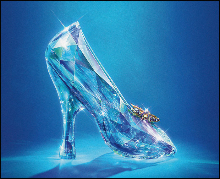 Cinderella 2015 Glass Slipper
