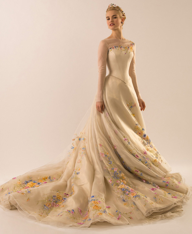 Cinderella 2015 Wedding Dress