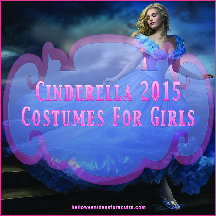 Cinderrella 2015 Costumes For Girls