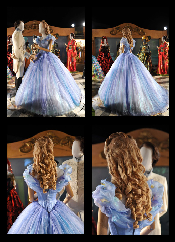 Cinderella 2015 dress exhibit