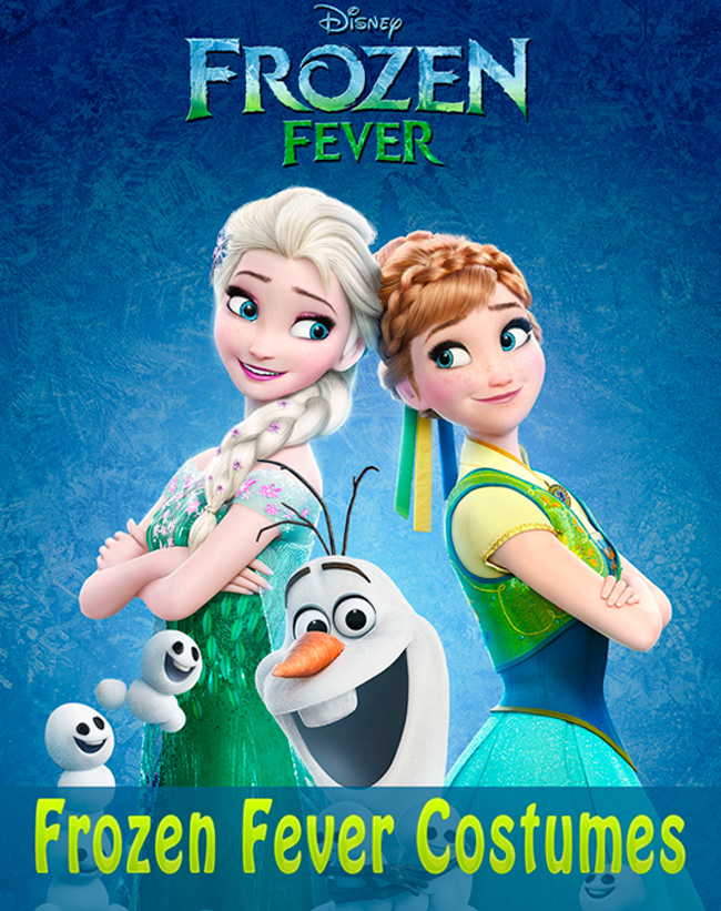 Disney Frozen Fever Costumes