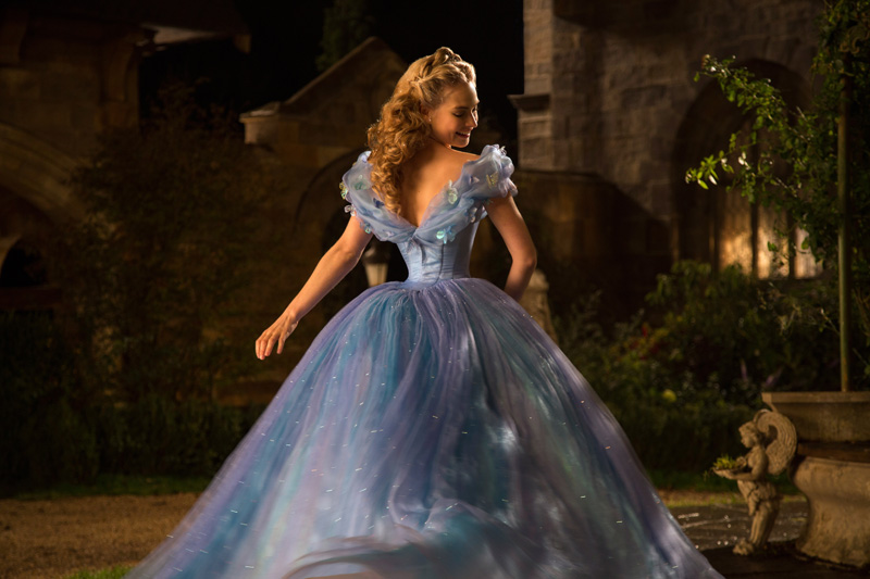 cinderella 2015 dress back