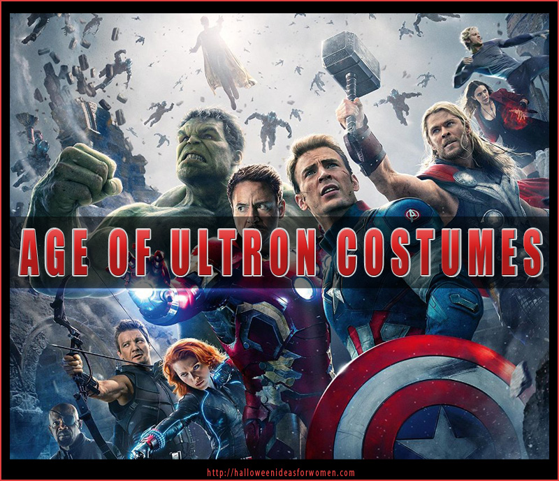 Age Of Ultron Costumes