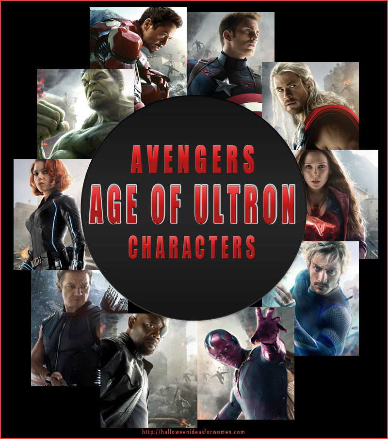 Age of Ultron Characters