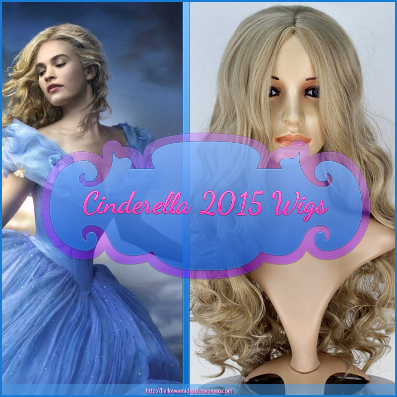 Cinderella Wigs for adults