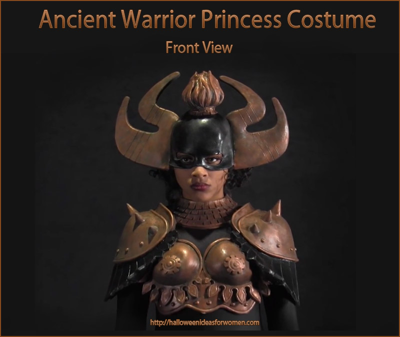 Ancient Warrior Princess Costume front